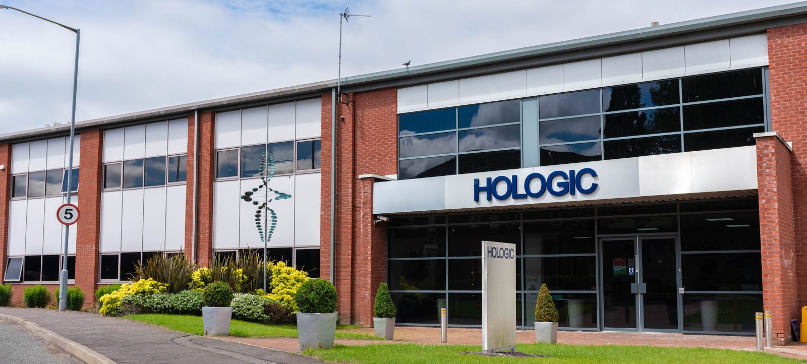 Hologic Manchester manufacturing facility