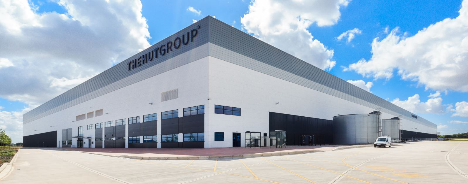 The Hut Groups 1m sq ft warehouse