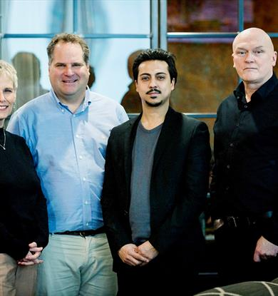 GC Angels investment in Marion Surgical. Pictured at The Landing , Media City.